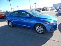 New Price! Electric 2018 Hyundai Elantra SE FWD 6-Speed