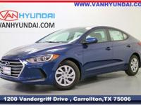 2018 Hyundai Elantra SE 38/29 Highway/City MPG  Van