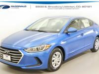 New Price! 2018 Hyundai Elantra SE FWD 6-Speed