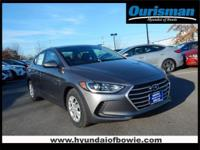 Machine Gray 2018 Hyundai Elantra SE FWD 6-Speed