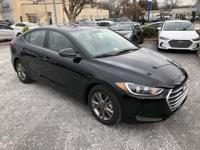 $4,631 off MSRP! 2018 Hyundai Elantra SEL Black Factory