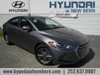 Recent Arrival!  Gray 2018 Hyundai Elantra Value