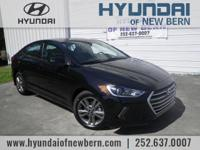 Recent Arrival!  Black 2018 Hyundai Elantra Value