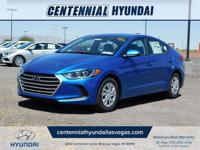 Electric 2018 Hyundai Elantra SE FWD 6-Speed Automatic