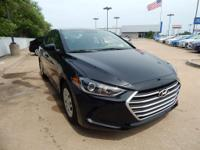 New Price! Phantom Black 2018 Hyundai Elantra SE FWD