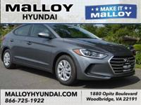 Recent Arrival!  Machine Gray 2018 Hyundai Elantra SE