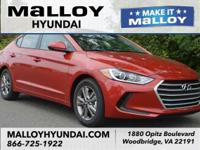 Recent Arrival! New Price!  Scarlet Red 2018 Hyundai