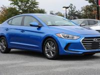 CARFAX One-Owner. Clean CARFAX. Elantra SEL, 2.0L