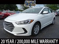 2018 Hyundai Elantra SE 38/29 Highway/City MPG  Sale