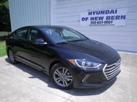 Black 2018 Hyundai Elantra Value Edition FWD 6-Speed