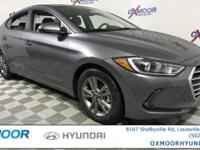 2018 Hyundai Elantra Value Edition 37/28 Highway/City