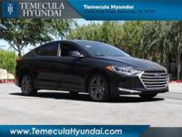 Temecula Hyundai is pleased to offer this gorgeous 2018