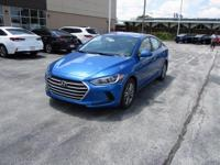 2018 Hyundai Elantra SEL WITH SOME AVAILABLE OPTIONS