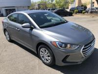 $4,520 off MSRP! 2018 Hyundai Elantra SE Gray Factory