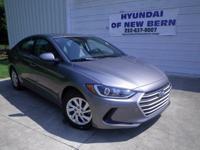 Gray 2018 Hyundai Elantra SE FWD 6-Speed Automatic with