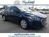 2018 Hyundai Elantra SE 38/29 Highway/City MPG  Call or