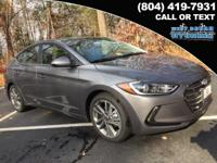 2018 Hyundai Elantra Limited 37/28 Highway/City MPG