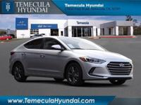Silver 2018 Hyundai Elantra 4D Sedan Value Edition 2.0L
