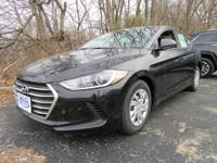 Black 2018 Hyundai Elantra SE FWD 6-Speed Automatic