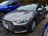 Gray 2018 Hyundai Elantra SE FWD 6-Speed Automatic with
