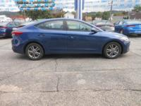 2018 Hyundai Elantra SEL 37/28 Highway/City MPG Price