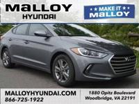 Recent Arrival!  Machine Gray 2018 Hyundai Elantra