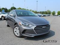 New 2018 Hyundai Elantra SE! This vehicle has a 2.0L