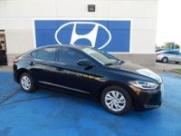 We are excited to offer this 2018 Hyundai Elantra.