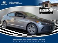 Machine Gray 2018 Hyundai Elantra SEL FWD Automatic