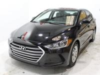 Black 2018 Hyundai Elantra SEL FWD 6-Speed 2.0L