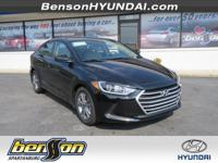 Elantra SEL, Black Diamond, and Beige. Perfect car for