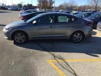 37/28 Highway/City MPG  2018 Hyundai Elantra SEL 2.0L