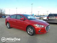 Scarlet Red 2018 Hyundai Elantra Value Edition FWD
