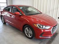 New Price! Scarlet Red 2018 Hyundai Elantra SEL FWD