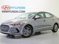 New Price! 2018 Hyundai Elantra SEL 37/28 Highway/City