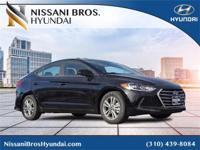 Diamond 2018 Hyundai Elantra SEL FWD 6-Speed Automatic