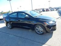 New Price! Black Diamond 2018 Hyundai Elantra Value