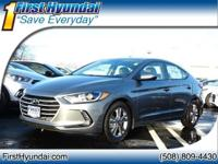 2018 Hyundai Elantra Value Edition 4-Wheel Disc Brakes,