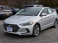 Silver 2018 Hyundai Elantra Limited FWD 6-Speed