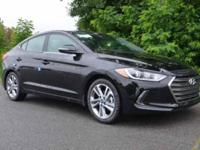 Recent Arrival!  Black Diamond 2018 Hyundai Elantra