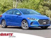 New Price! Electric 2018 Hyundai Elantra SEL FWD