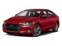 Factory MSRP: $27,635 2018 Hyundai Elantra Limited