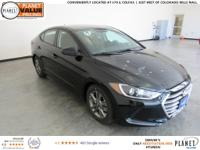$3,972 off MSRP! Phantom Black 2018 Hyundai Elantra SEL