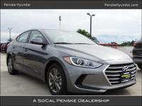2018 Hyundai Elantra SEL 37/28 Highway/City MPG Thanks