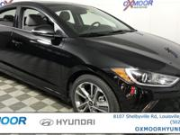 2018 Hyundai Elantra Limited Automatic Emergency