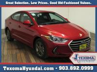 Red 2018 Hyundai Elantra Value Edition FWD 6-Speed