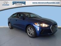 Safe and reliable, this 2018 Hyundai Elantra SEL makes