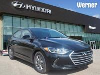 Black 2018 Hyundai Elantra Value Edition FWD 6-Speed