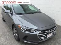 2018 Hyundai Elantra SEL 37/28 Highway/City MPG Recent