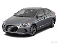 This 2018 Hyundai Elantra SEL is offered to you for